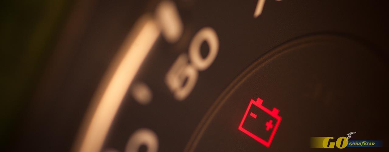 icono de la batería del coche