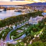 Málaga vista ciudad