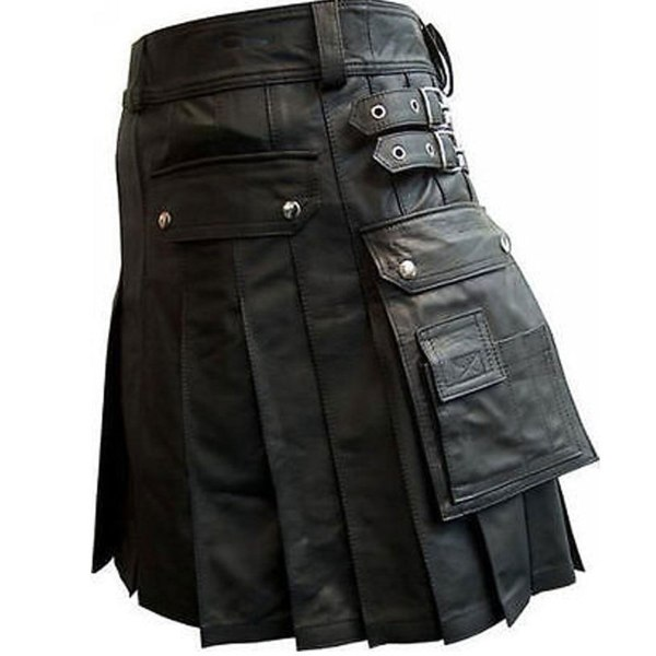 black-leather-kilt-with-twin-cargo-pockets-side