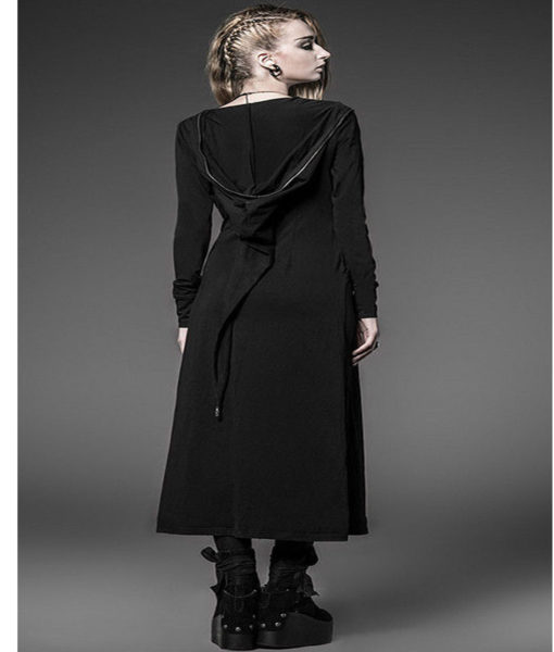steam-long-cardigan-shirt-jacket-black-witches-gothic-visual-kei-back-model-510×600
