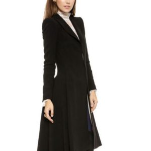 New Victorian Trench Coat Ruffle Swallowtail Jacket Overcoat Military GothSteampunk