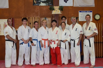 North Coast KIMAA with Shihan Ken.