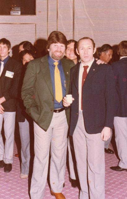 Shihan Howard Lipman and Shihan Cyril Andrews