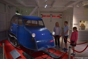 First Bombardier Snow Mobile, Museum of Ingenuity, Valcourt, Quebec