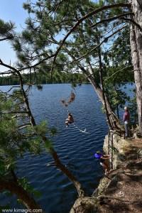 Boat trip, Dancing Bass Lodge