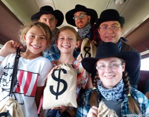 Waterloo Central Railway, trip from The St.Jacobs Farmers' Market to Elmira, experiencing the Great Train Robbery.