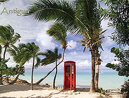 Antigua and barbuda Postcards