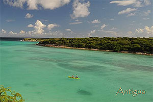 Lovers Beach Antigua