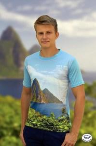 Saint Lucia T shirt