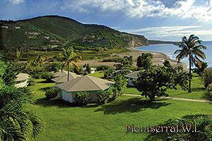 MNI4606 Montserrat Postcard