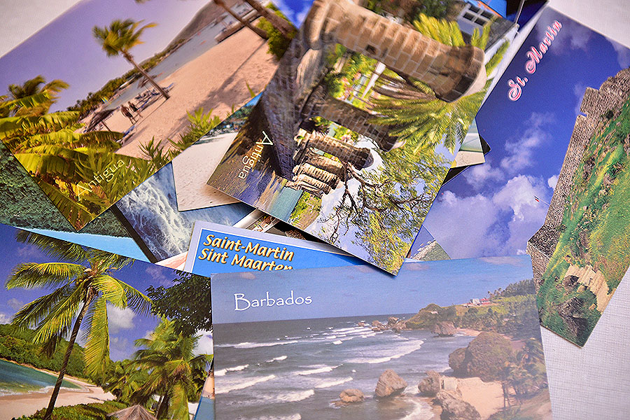 Caribbean Postcards