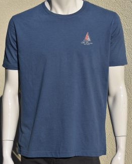 Saint Lucia T-shirt nautical design sailing boat
