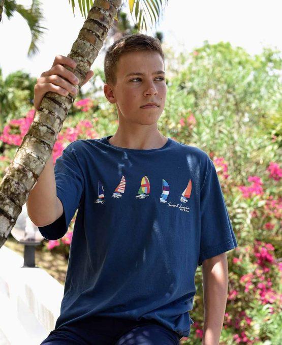 Happy Barracuda Sails T-shirt 2019 edition