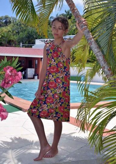 Flower Dress, Fox Grove Inn, Saint Lucia