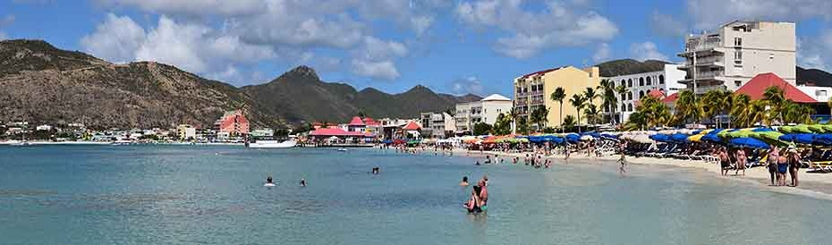 St. Maarten Philipsburg Great Bay Beach