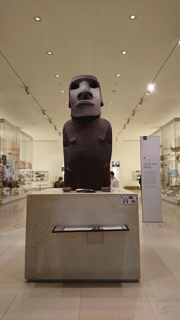 大英博物館 モアイ