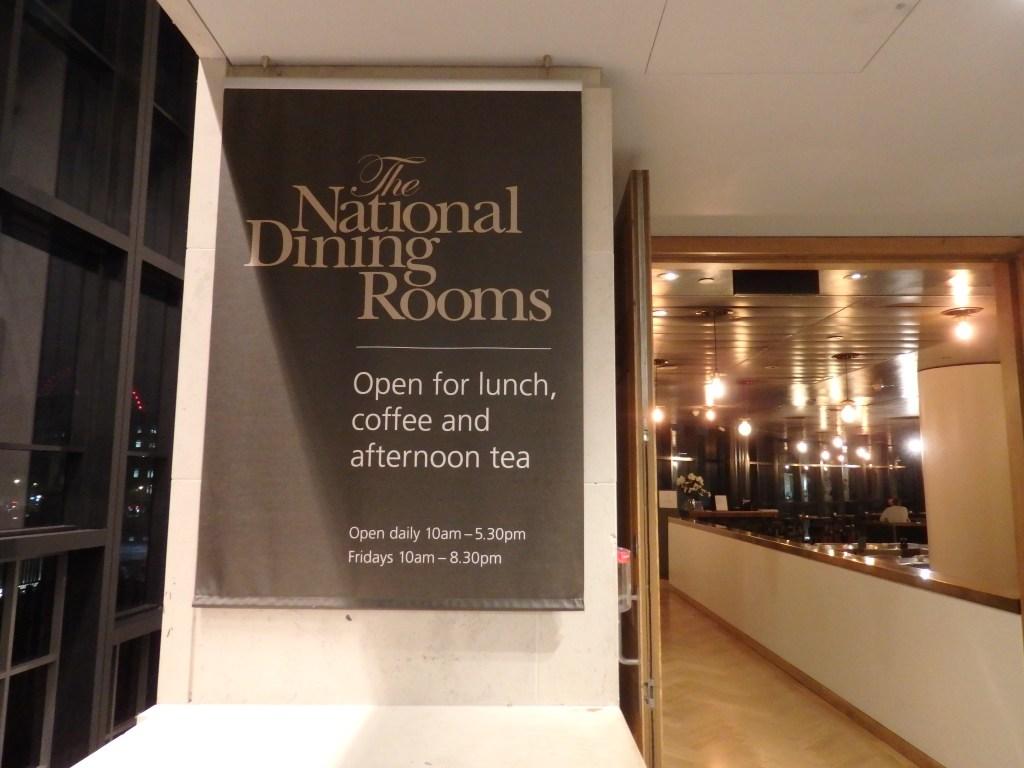 ナショナルギャラリーのカフェ