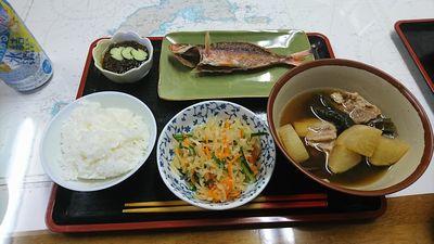 民宿 一日目の夕食
