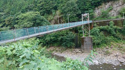 龍神温泉 吊り橋