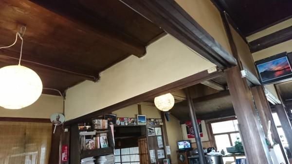 酪農cafe酪 店内天井