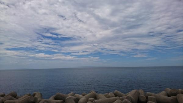 蜃気楼が見られる富山湾