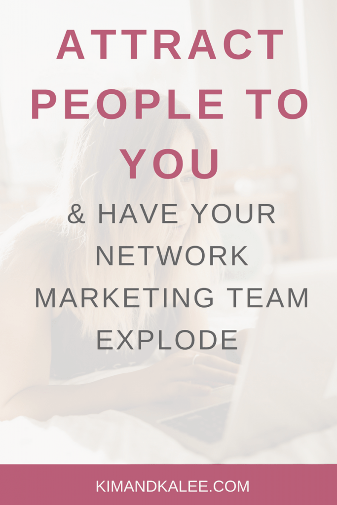 attract people to you mlm network marketing