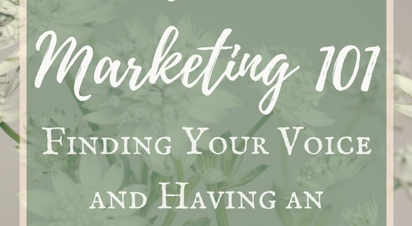 Finding Your Niche – Establishing Your Voice and Having an Impact Online