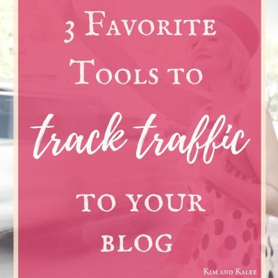 Stop wondering how many people read my blog and find out! These 3 tools will show you how to track traffic to your website and optimize your content.