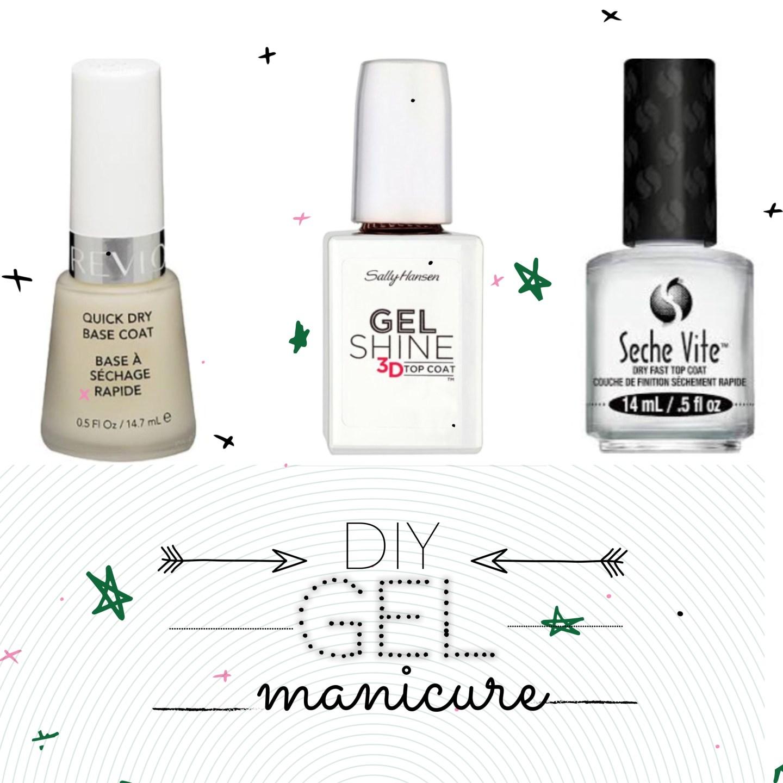 """Triple Threat DIY """"Gel"""" Manicure"""
