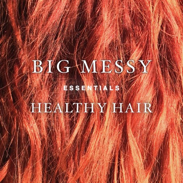 Big, Messy, Healthy Hair Product Picks | KIMANDMAKEUP