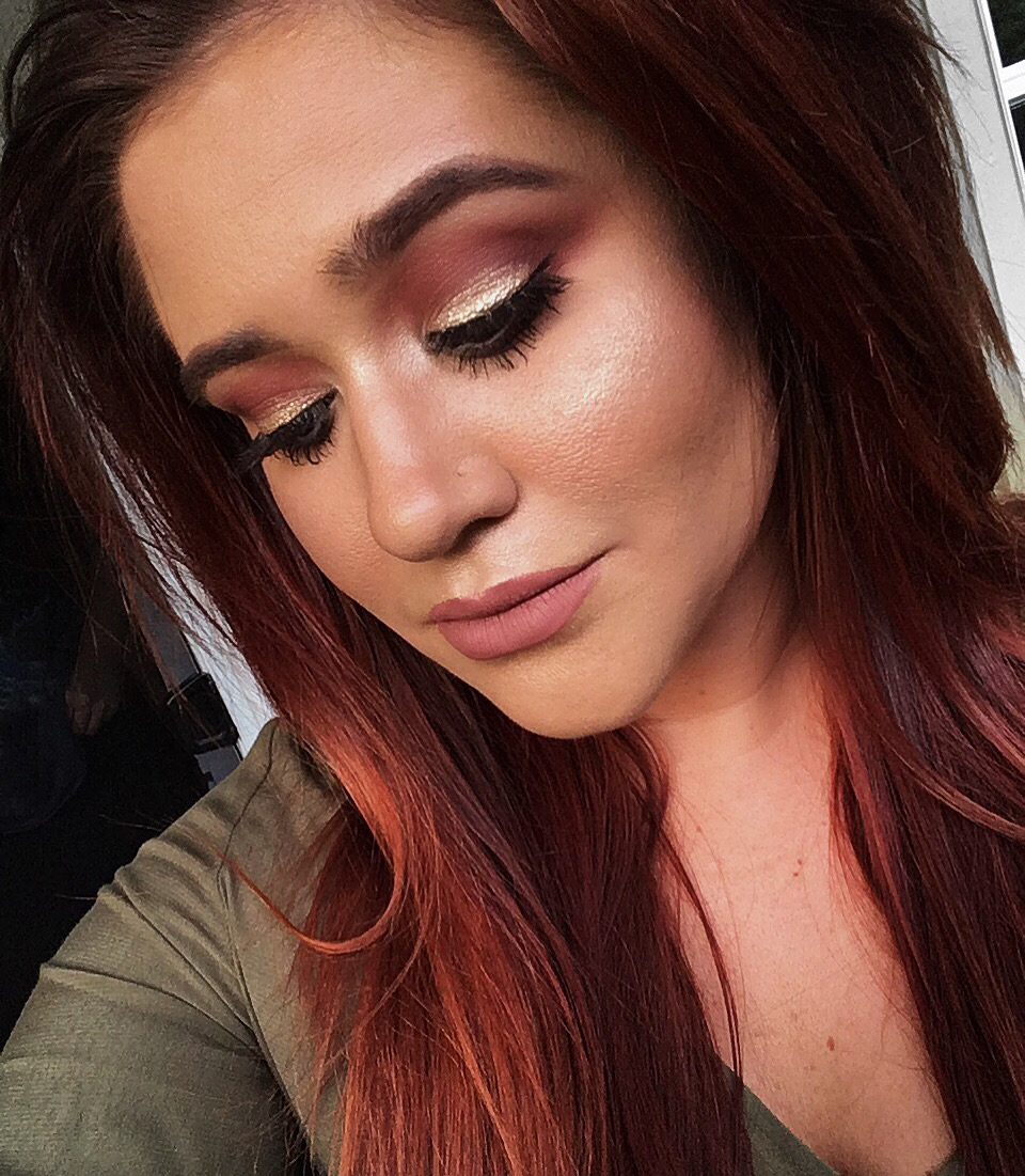 Autumn Inspired Makeup Look