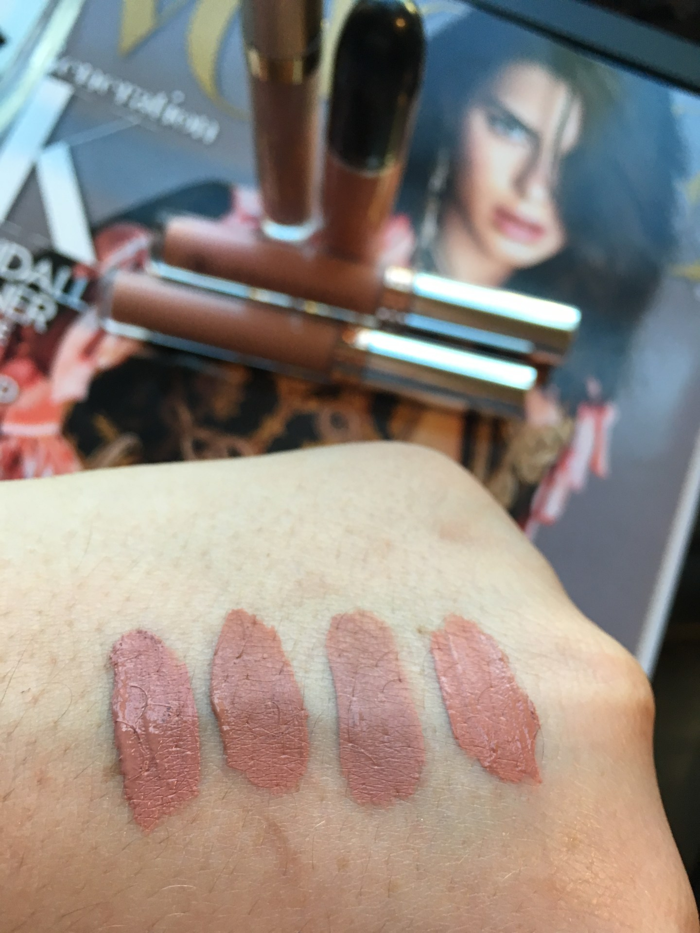 Go To Nude Lipsticks