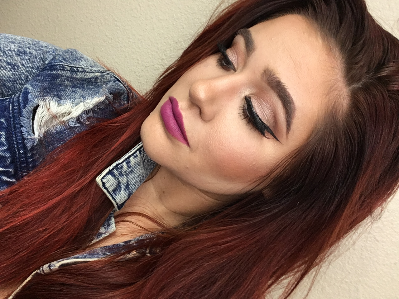 Fall Daytime Glam with Two Bold Lip Options