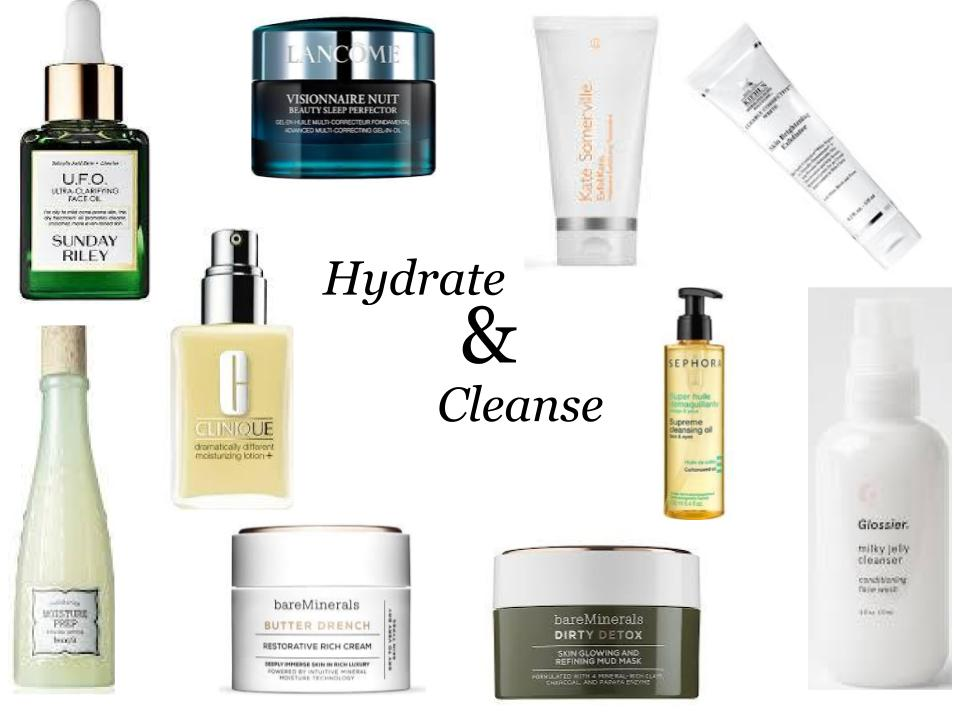 Wednesday Wishlist: Hydrate & Cleanse