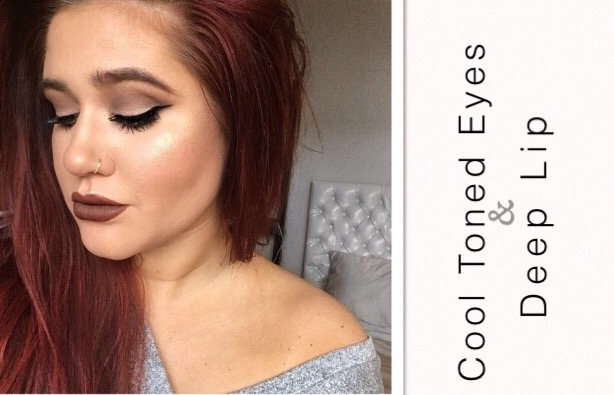 Dewy Skin, Cool Tone Eyes with Two Lip Options!