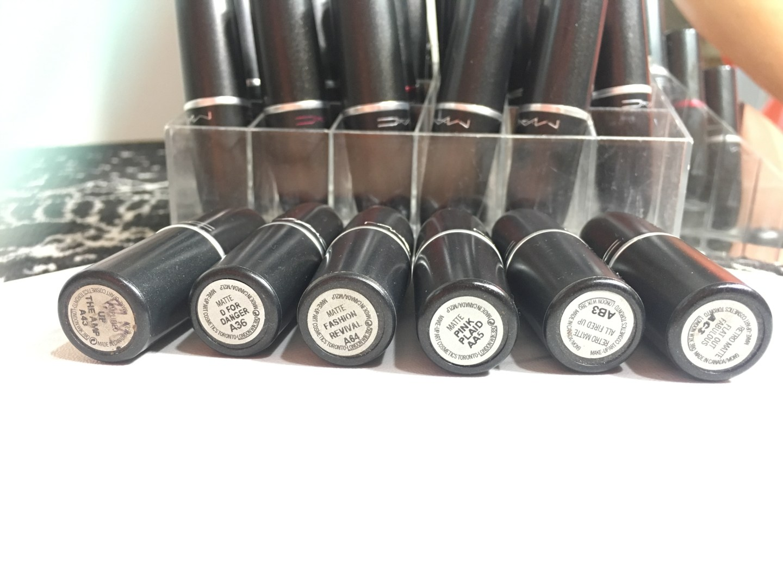 MAC Berry Lipsticks