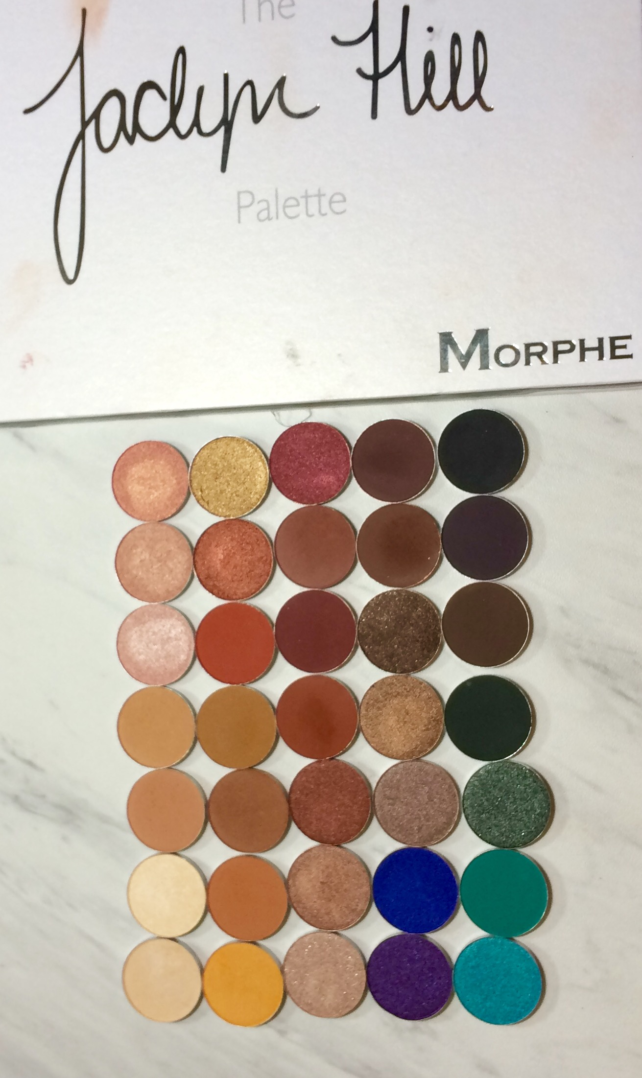 Jaclyn Hill Morphe Palette | Depotting & Thoughts