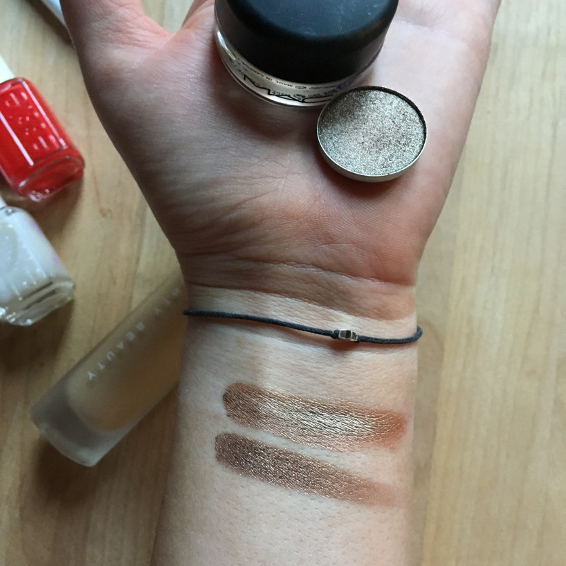 MAC Indianwood top, MAC Tempting bottom