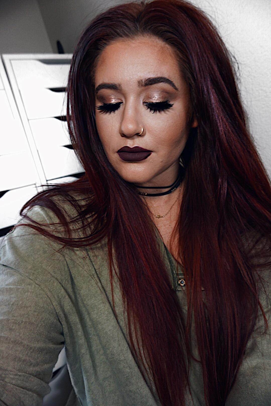 Dark Burgundy Lipsticks