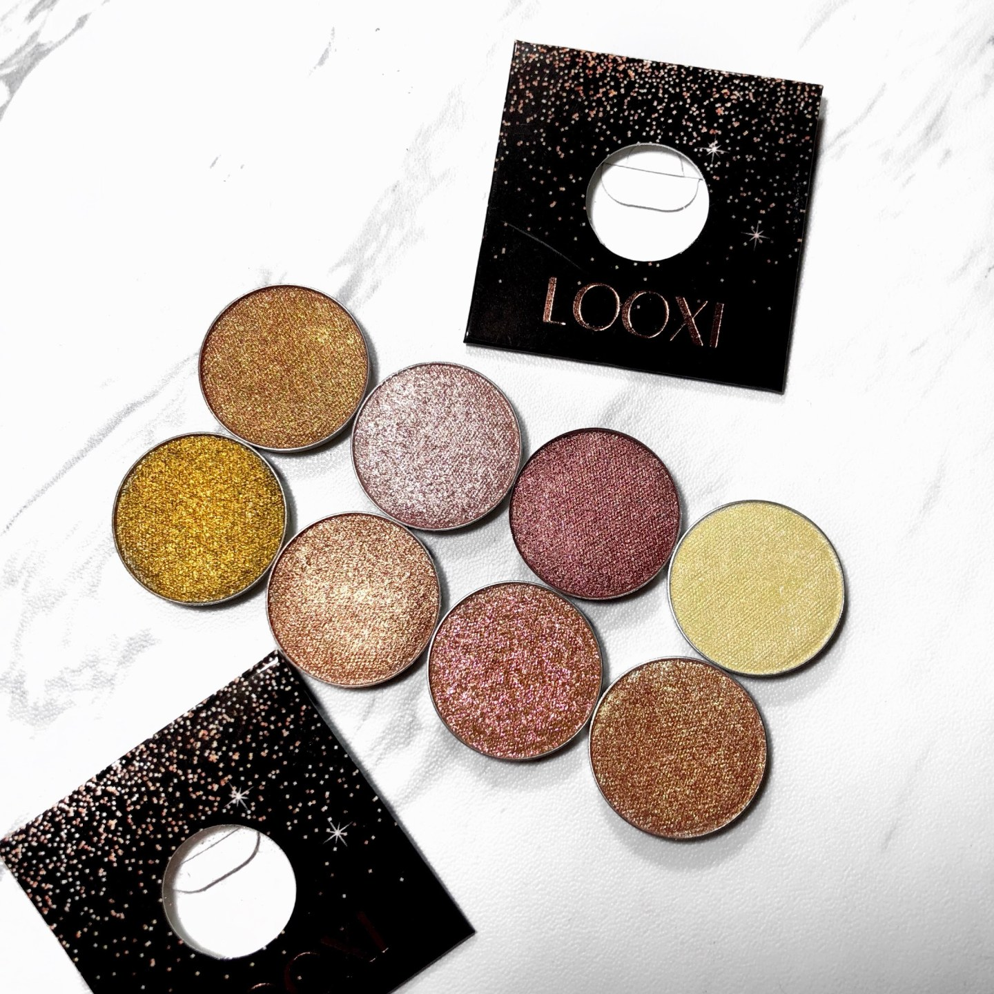 Looxi Beauty Shimmer Eye Shadows