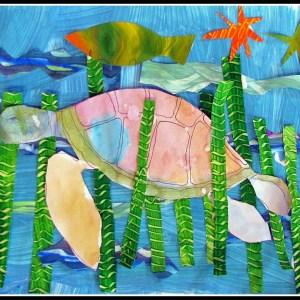 Recycled Ocean Wonders