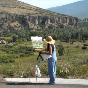 Plein Aire Workshop_Oils or Acrylics_Jeanne LaRae_all sessions