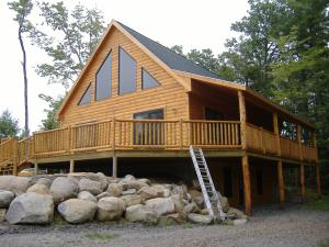 Kimball Building and Remodeling Log Cabin Construction