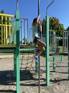 Leah at the Playground