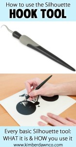 Silhouette Hook Tool: How to use every basic Silhouette Tool - Click here to see them all!