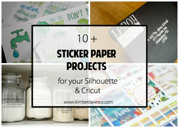 10 sticker paper projects