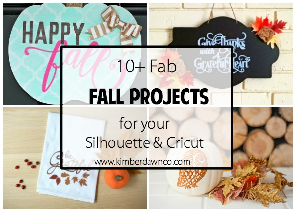 10+ Fab Fall Projects | www.kimberdawnco.com