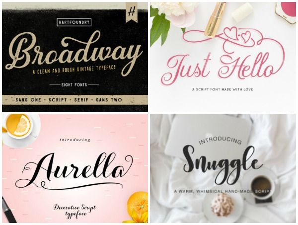 Best Fonts for Silhouette & Cricut Machine
