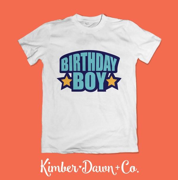 Birthday Boy Free SVG Cut File