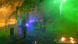 Ghostly visitors wander the Kimber Hollow graveyard